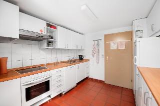 Gemeindeküche im Erdgeschoss