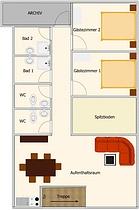 Döbbrick - Grundriss Dachgeschoss
