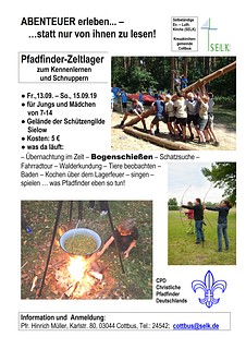 2019-09_Pfadfinder_Schnupperlager-Plakat